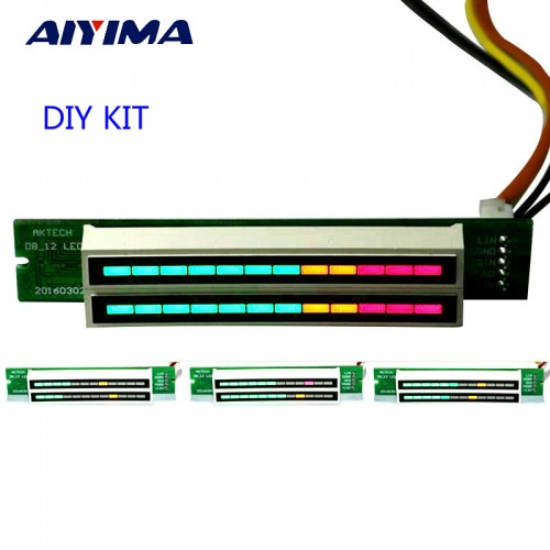 Aiyima Mini Level Meter Stereo Amplifier Board Speed Board