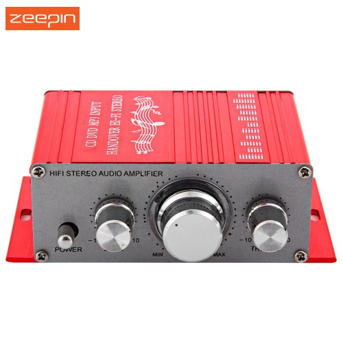 Zeepin Aluminum alloy 12V Mini Auto Car Stereo Amplifier