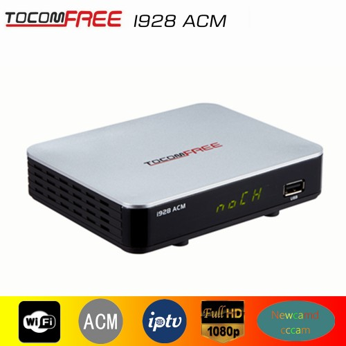 2017 New Arrival TOCOMFREE i928ACM Digital Satellite Receiver Support cccam newcam PowerVu Biss key