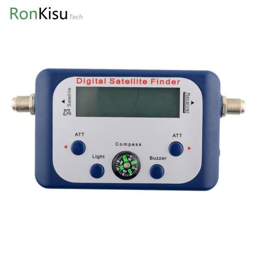 Digital Display Satellite Finder Satellite Signal Meter Compass Satellite finder