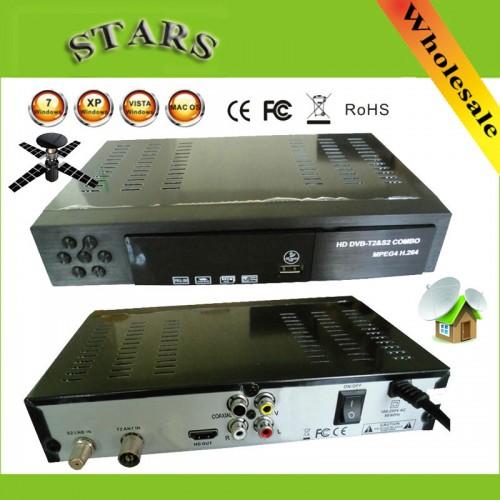 Digital Terrestrial Satellite TV Receiver Combo HD 1080P