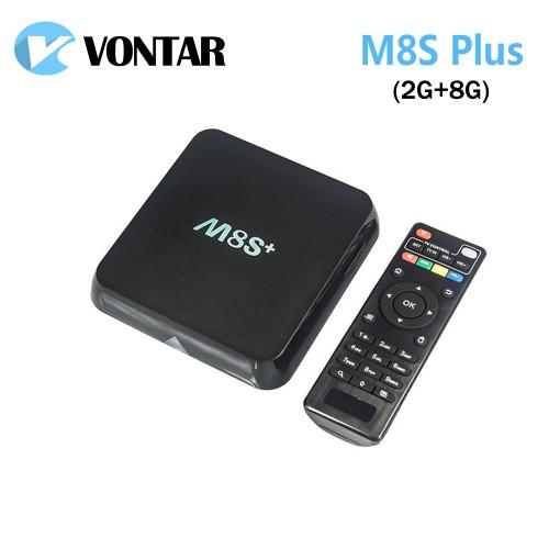 Genuine M8S Plus M8S Android TV Box S812