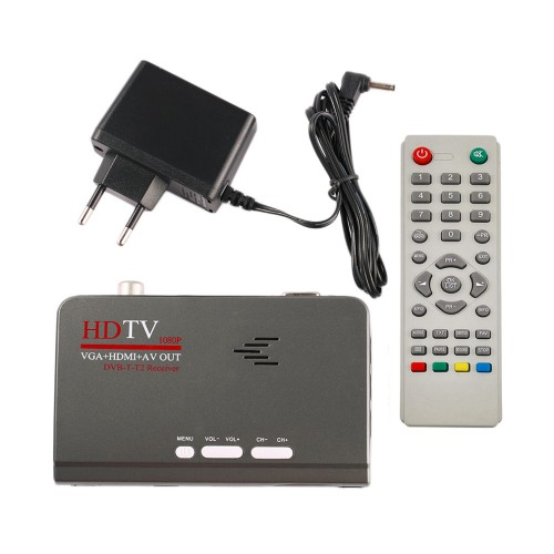 HD 1080P With VGA DVB T2 TV Box