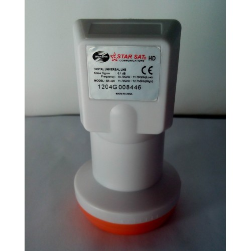SINGLE LNB SR 320 Best Signal digital HD Universal KU Band Single LNB waterproof High Gain