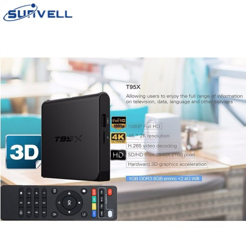 Sunvell T95X Amlogic S905X Smart TV Box Quad Core