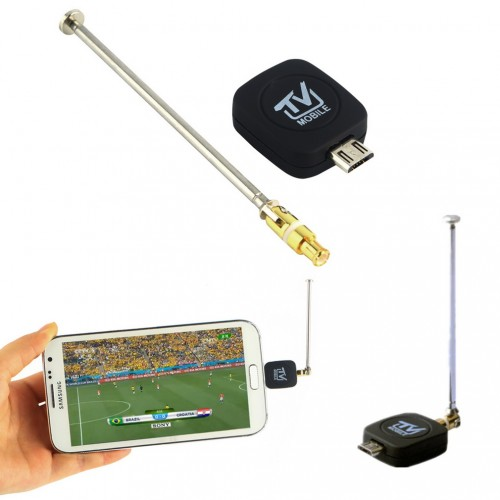 Mini Micro USB Input Digital Mobile TV Tuner Receiver for Android