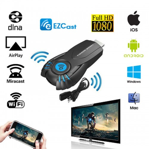 Smart Tv Stick EZ cast Android Mini PC Miracast Mirror cast Dongle wifi Ipush better