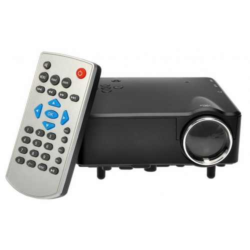 Mini Projector HD Mini LCD Digital Video Game Projectors Multimedia Player Inputs