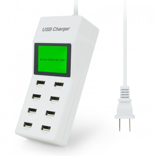 Multi Usb Ports Charger with Screen Voltmeter Smart Wall Charger for Yotaphone