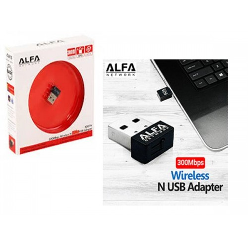 ALFA 300Mbps Wireless USB Adapter Alfa 1501N USB Adapter Wireless Transmission