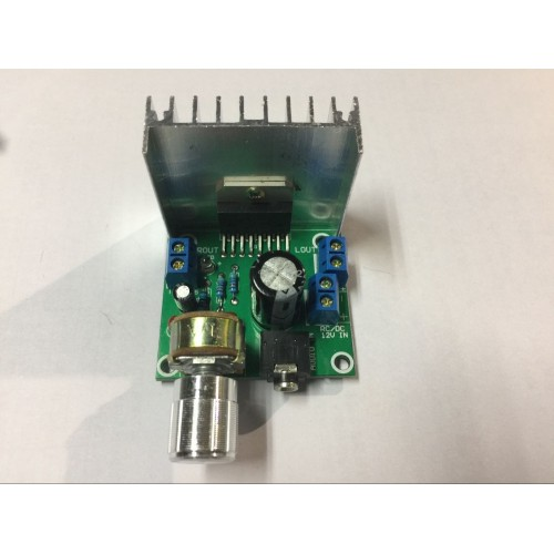 board amplifier parts dc dual audio coding 15 w