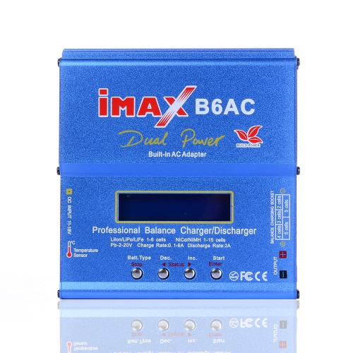 80W IMAX RC Balance Battery Charger AC lithium Battery Balance Charger Discharger