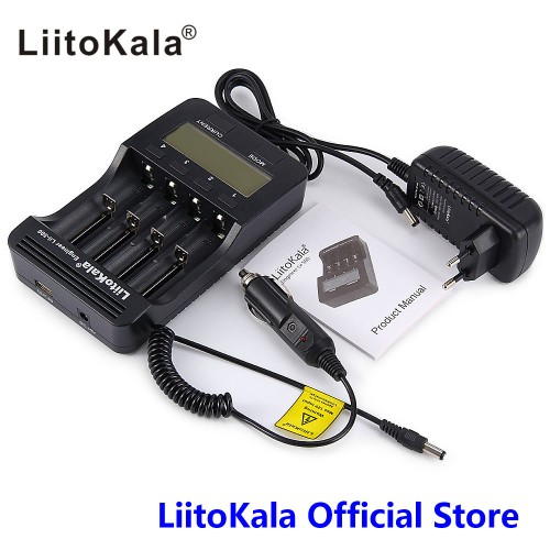 LCD battery charger for smartphones and tablets (4)