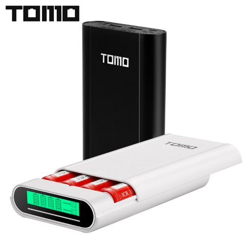 M4 Power Bank 18650 Battery Charger Mobile Intelligent PowerBank Dual Output without