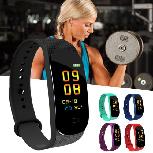 M5 Sports Heart Rate Blood Pressure Monitor Fitness Tracker Smart Bracelet Watch