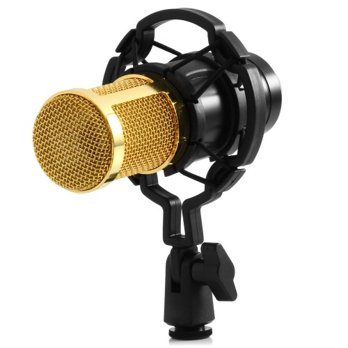 Dynamic Condenser Wired Microphone Mic Sound Studio for Recording