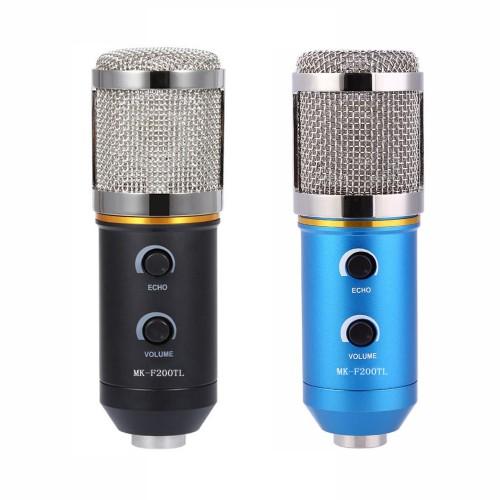 Microphone Adjustable Sound Volume Noise Reduction Condenser KTV Audio Studio Recording Mic Update