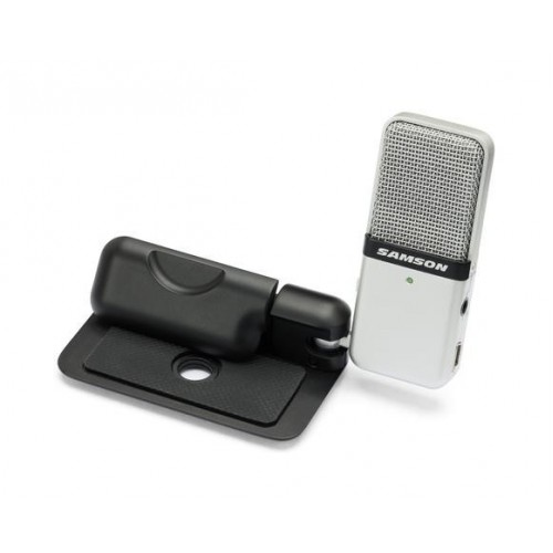 Original Mic clip type Mini Portable Recording Condenser Microphone with USB Cable Carrying Case
