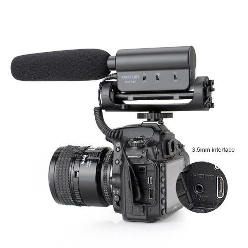 Photography Interview Lecture Conference Shotgun Microphone