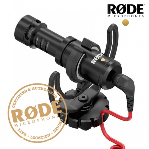 Rode VideoMicro Compact On Camera Recording Microphone