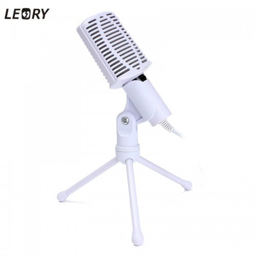 Rotatable Condenser Microphone Mic Recording Stand For PC Laptop Desktop Computers Microphone
