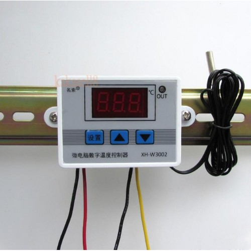 Digital Temperature Controller Thermostat Control Switch Probe with waterproof sensor thermostatic