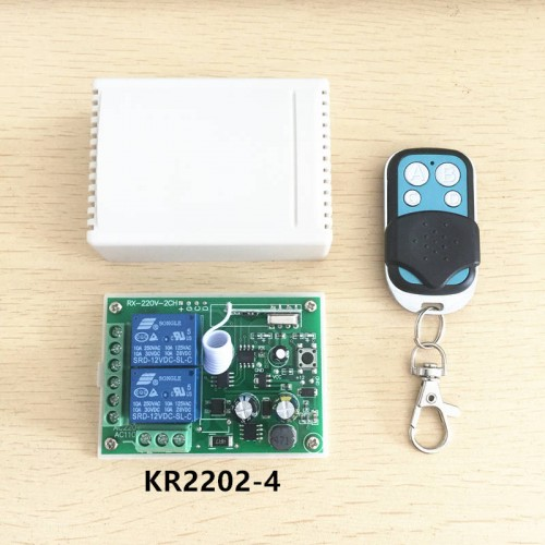 Universal Wireless Remote Control Switch AC Relay Receiver Module
