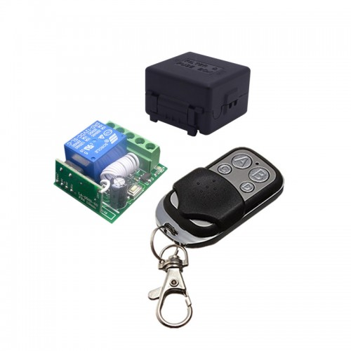 Universal Wireless Remote Control Switch DC relay Receiver Module and RF Transmitter (2)
