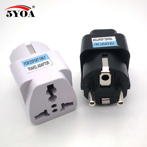 International Travel Universal Adapter Electrical Plug For UK US EU AU to EU European