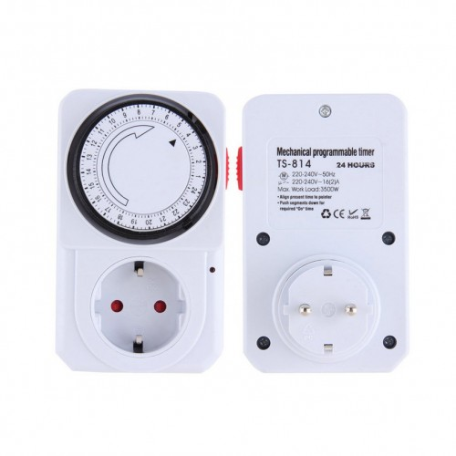 Mechanical Electrical Plug Program Timer Power Switch Energy Saver