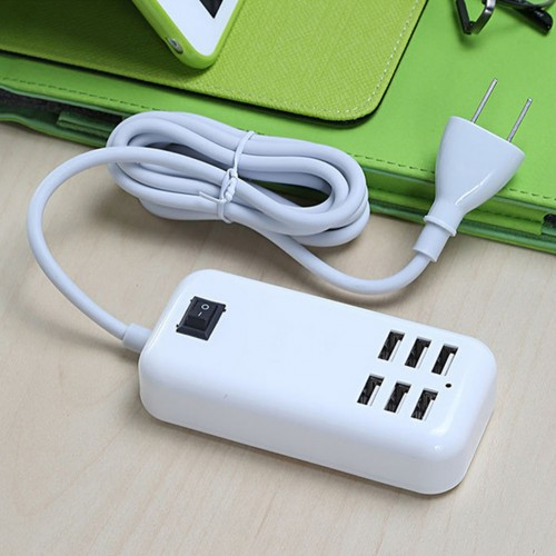Plug Home Travel Charger Wall Power Adapter Ports USB Socket Hub