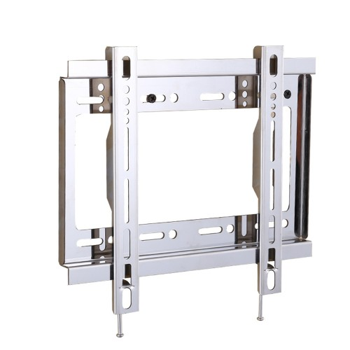 Universal TV Wall Mount Flat Screen Stand Fixed Slim Strong Stable TV Bracket Stainless Steel Bracket