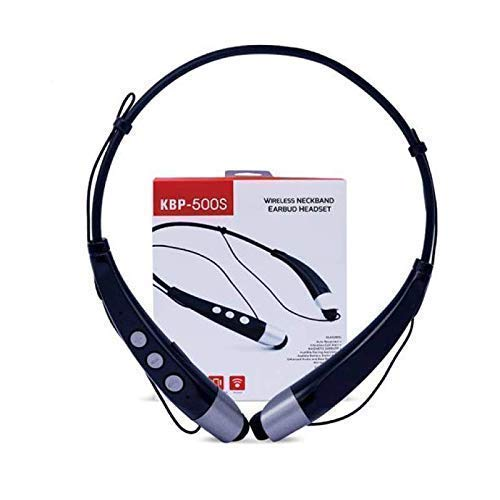 Kbp-500S Wireless Neckband Bluetooth Headset With Inbuilt Microphone And Music Play