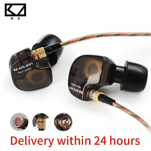 KZ ATES ATE ATR HD9 Copper Driver HiFi Sport Headphones In Ear Earphone For Running With
