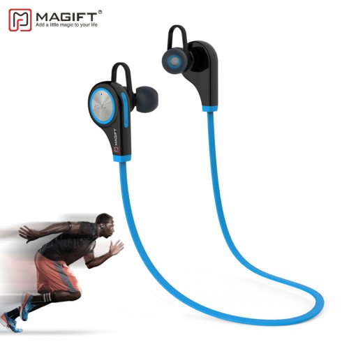 Magift6 Sports Bluetooth Headsets CSR4 1 Q9 Wireless In ear Stereo Earphone with Microphone