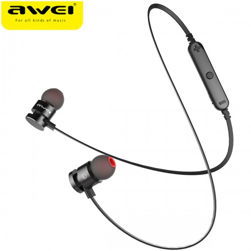 Newest AWEI T11 Wireless Headphone Bluetooth Earphone Fone de ouvido For Phone Neckband Ecouteur Auriculares