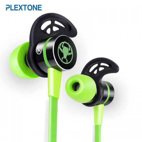 PLEXTONE G20 In ear Earphone With Microphone Wired Magnetic Gaming Headset Stereo Bass Earbuds Computer Earphone