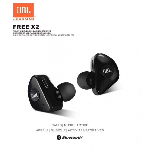 JBL X2 Wireless Bluetooth In Ear Headphones HIgh Quality Stereo