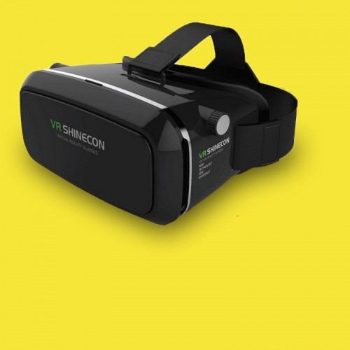 VR Shinecon Bluetooth Virtual Reality 3D Glasses Headset For 4.0-6.0 Inch Smart Phone
