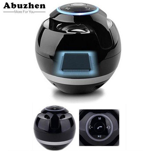 Abuzhen Bluetooth Speaker Mini Portable Wireless Speaker Soundbar Bass Boombox Sound box with Mic TF Card