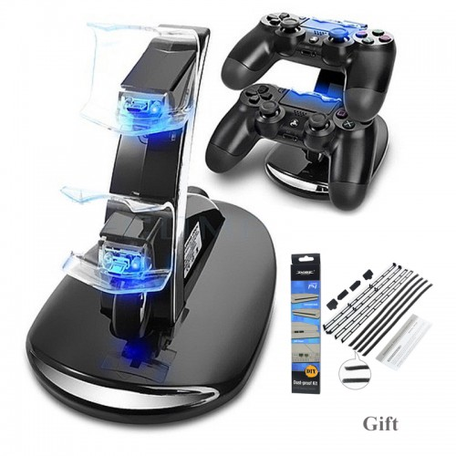 Controllers Charger Charging Dock Stand Station For Sony PlayStation Game Gaming