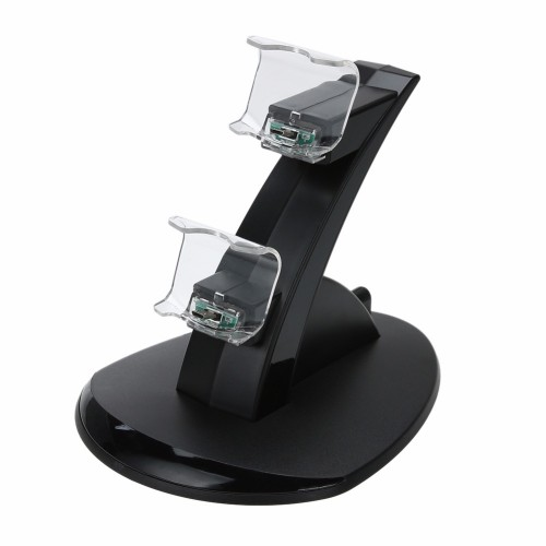 Dual Handle Fast Charging Dock Station Stand Charger for Controller