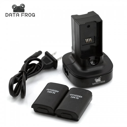 New Dual Charger Rechargeable Battery LED Charging Light Backup Battery Pack