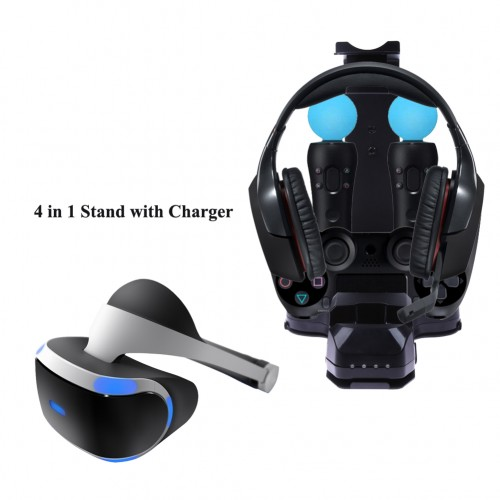 Stand with Charger Charging Station for  PlayStation Camera