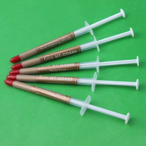 Golden Color Thermal Grease  Heatsink CPU Paste