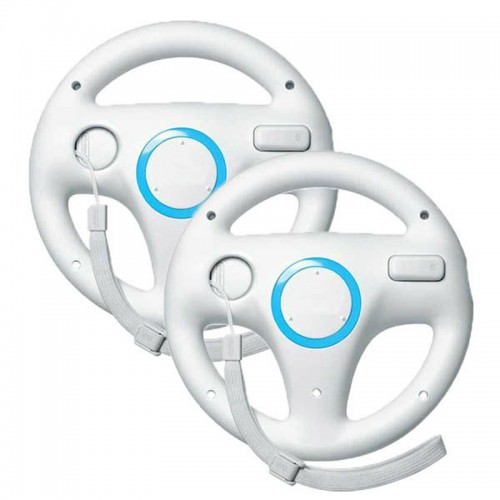 Steering Kart Racing Wheel for Nintendo for Wii Remote Control Game Excite Truck Excitebike