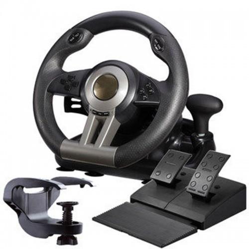 simulation automobile race vibration pc usb computer game steering