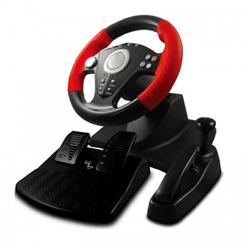 simulation automobile race vibration pc usb computer steering wheel learning car driving