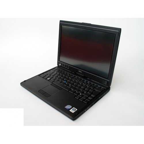 Used Dell Latitude XT Laptop Intel Core 2 Duo Rotating & Touch Screen