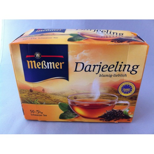 Meßmer Messmer Darjeeling Flower Tea Flavor